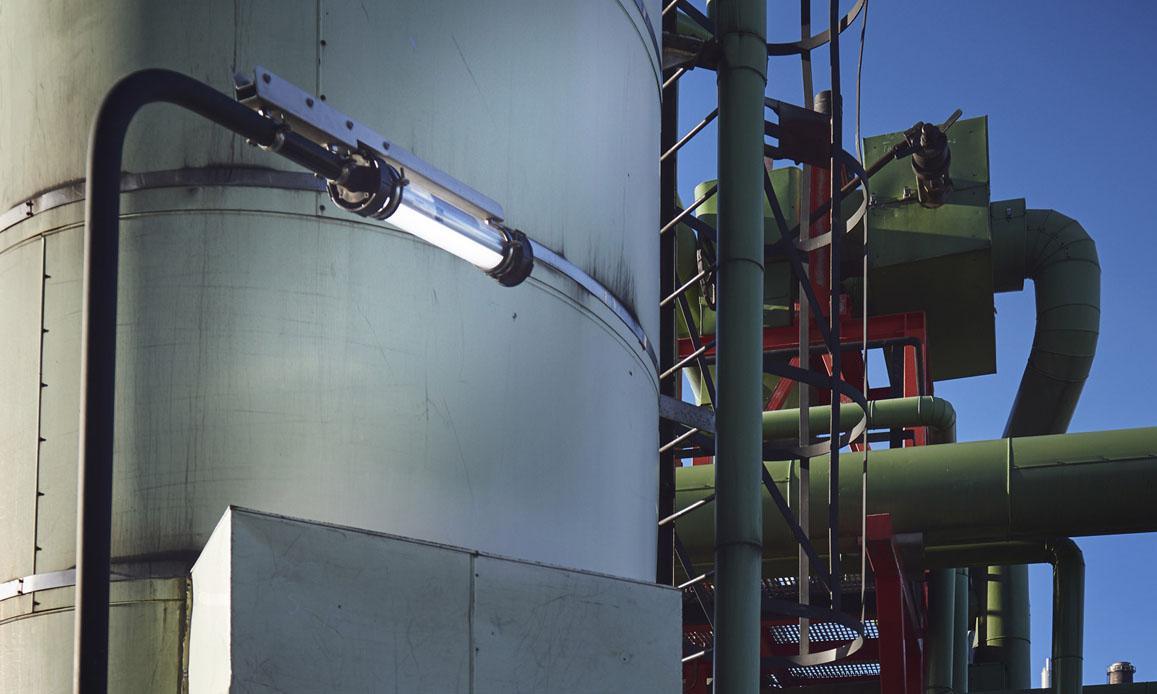 SLAM FIXED kit MZ2268 installed to Neste oil refinery.
