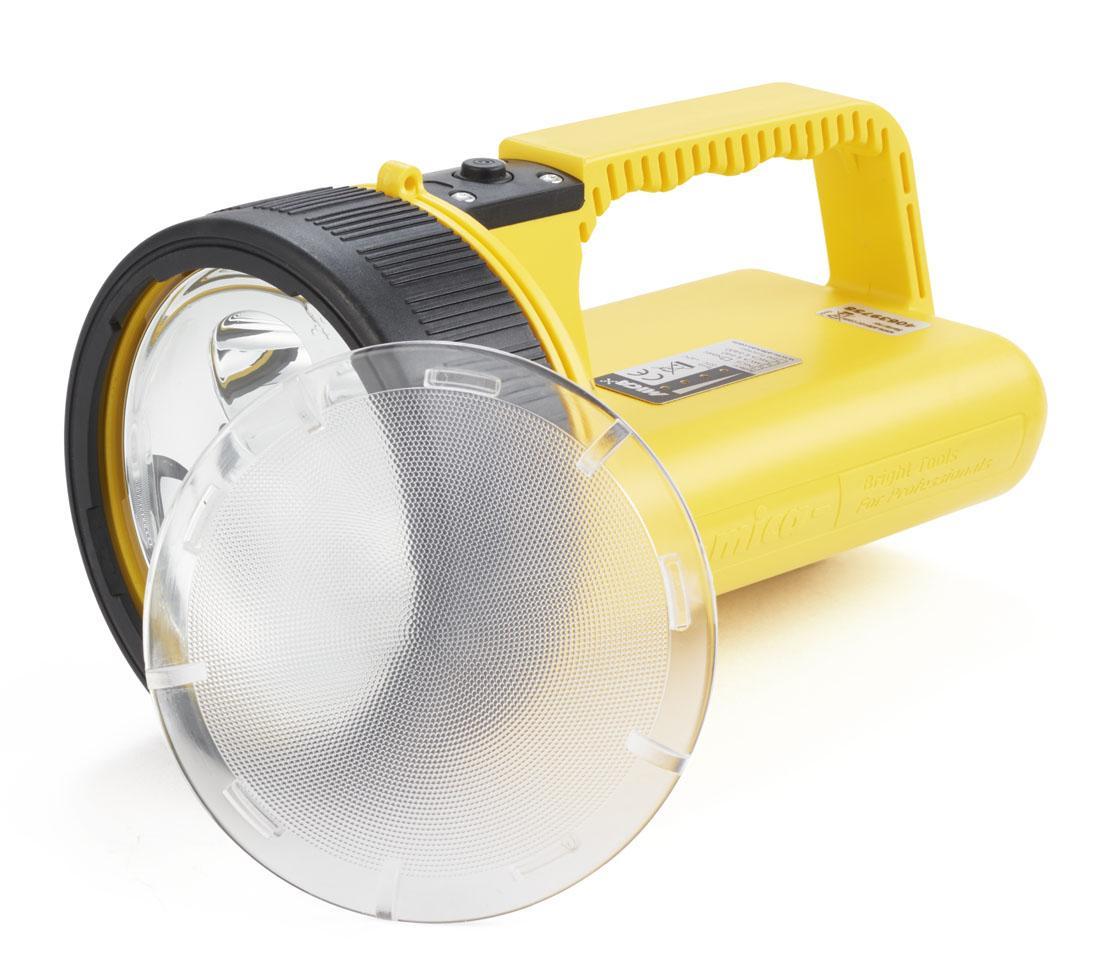 Atexor's MICA handlamp and diffuser lens.