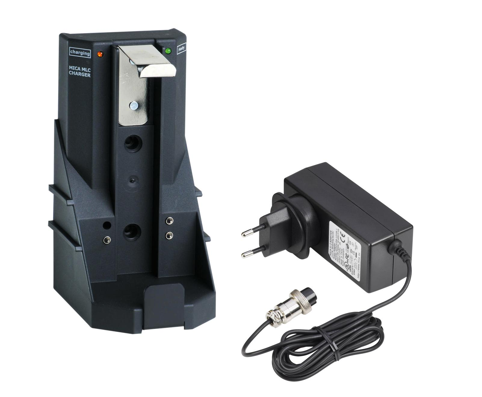MICA IL-2 mains adapter and MLC fast charger