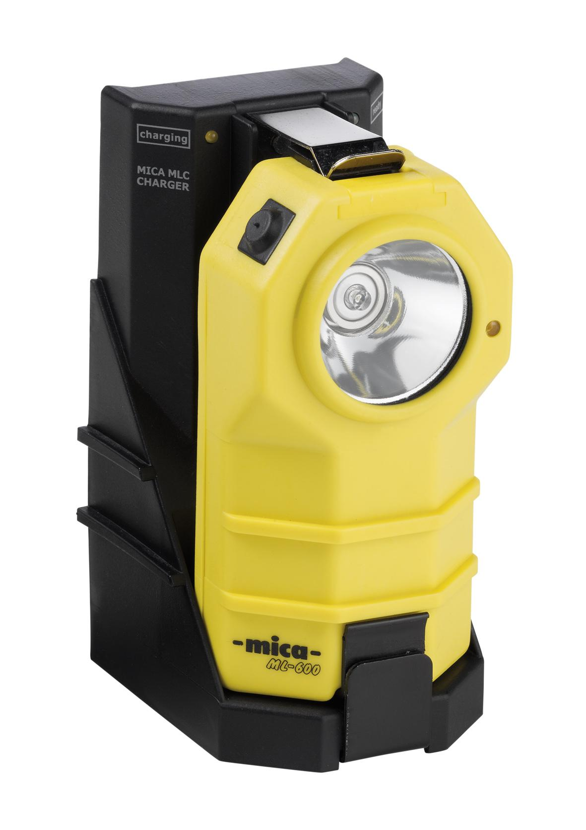 MICA MLC Fast charger and MICA ML-600 handlamp