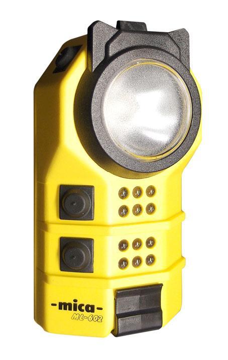 Diffuser lense intalled to MICA ML-602 signaling lamp.