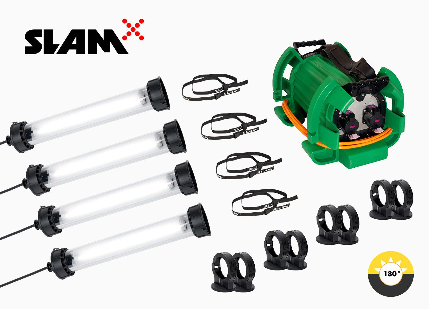 All items included to SLAM 12VAC ATEX Tank Set