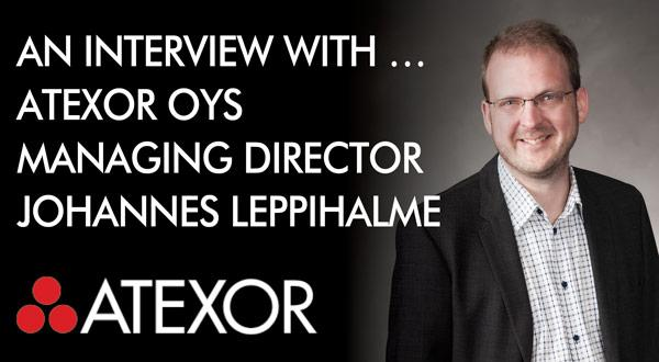 MD of Atexor Johannes Leppihalme interviewed in Atexor blog.