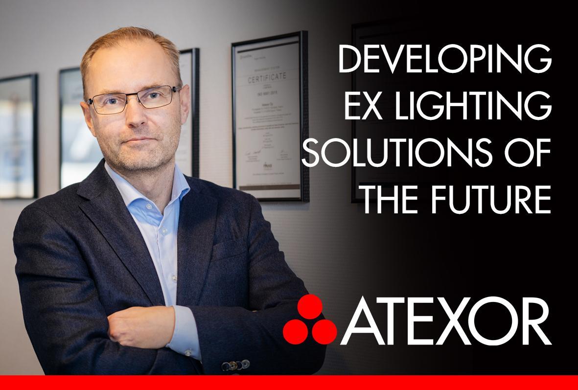 Atexor Oy's Vice president Jukka Viitasalo interviewed.