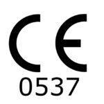 Atexor CE logo with Notified Body ID 0537
