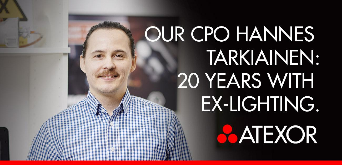 Hannes Tarkiainen from Atexor pictured