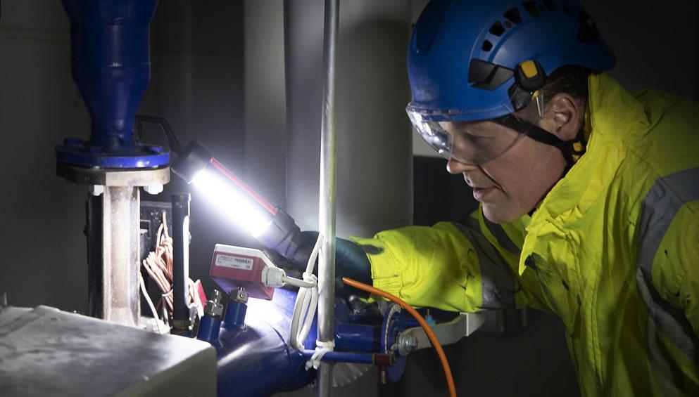 SEMIC SP Ex area light in use